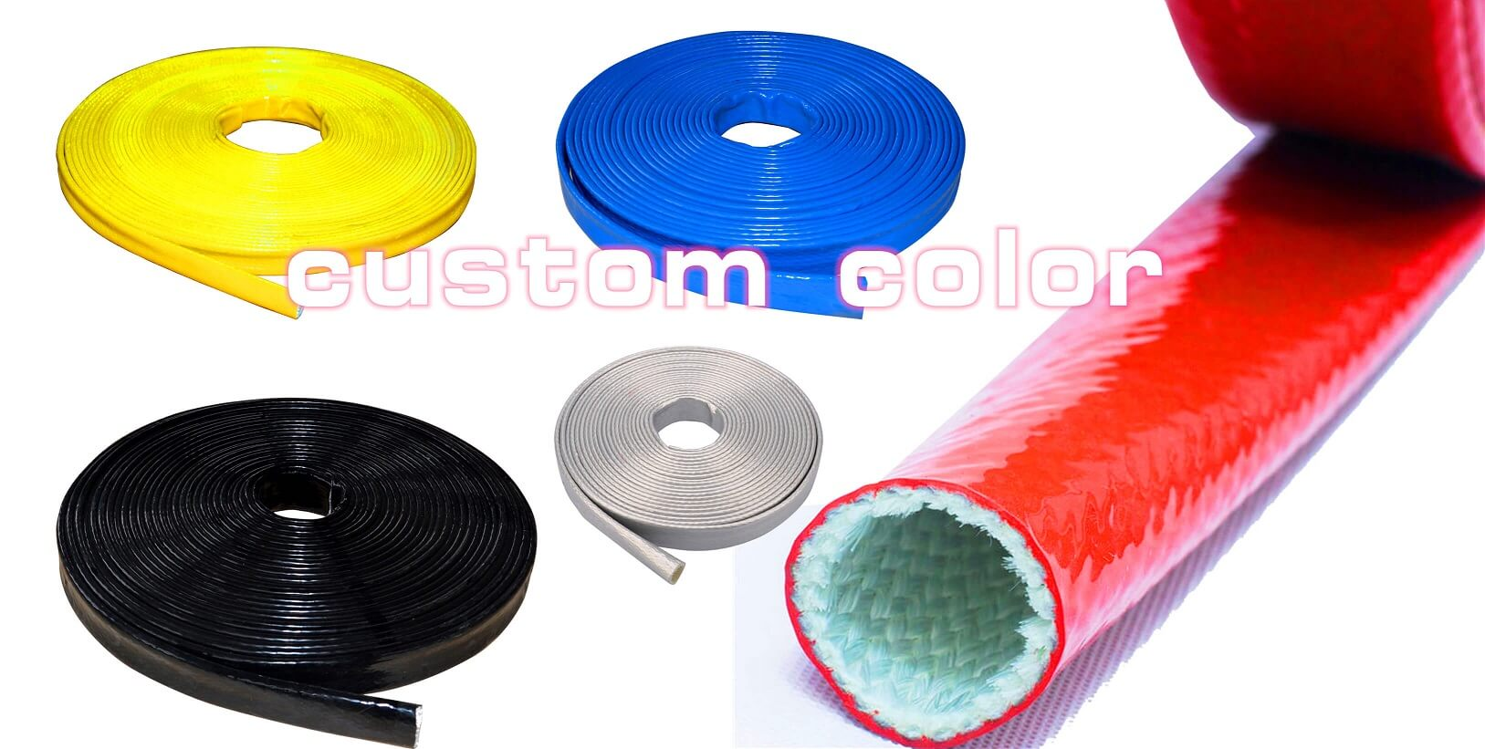 High Temperature Resistant Hose Protector Sleeving